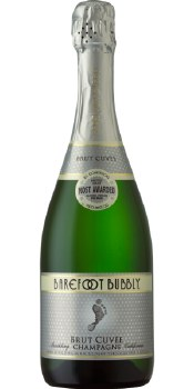 Barefoot Bubbly Brut Cuvee 750ml