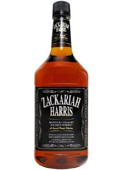 Zackariah Harris Bourbon 1.75L