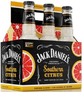 Jack Daniel's Country Cocktails Southen Citrus 6pk 12oz Btl