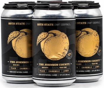 25TH State Johnson County 4pk 12oz Can