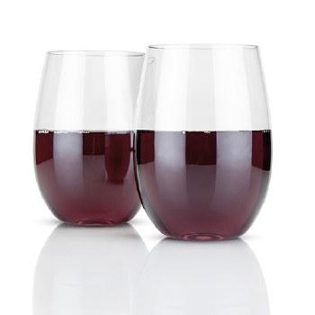 Flexi Stemless Wine Glasses (set of 2)