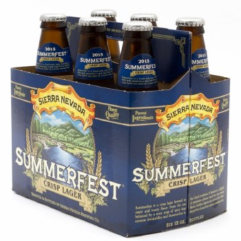 Sierra Nevada Summerfest 6pk 12oz Btl
