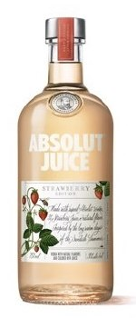 Absolut Juice Strawberry Vodka 375ml