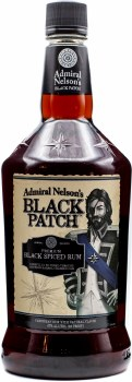 Admiral Nelson Black Patch Spiced Rum 1.75L