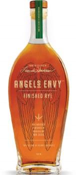 Angels Envy Finished Rye aged in  Rum Casks 750ml