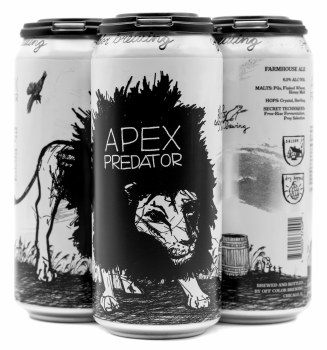 Off Color Apex Predator 4pk 16oz Can