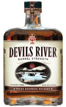 Devils River 117 Proof Bourbon Whiskey 750ml