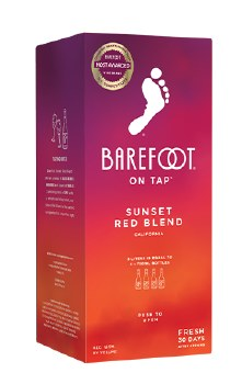 Barefoot Sunset Red 3L