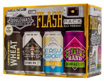 Boulevard Flash Pack Variety 12pk 12oz Can