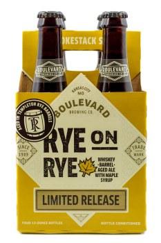 Boulevard Rye on Rye Barrel Aged Maple 4pk 12oz Btl
