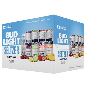 Bud Light Seltzer Variety Pack 12pk 12oz Can
