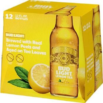 Budl Light Lemon Tea 12pk 12oz Btl
