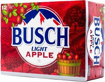 Busch Light Apple  12pk 12oz Can