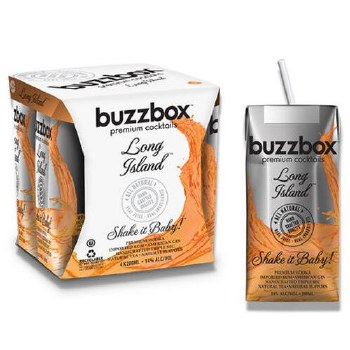 Buzzbox Long Island Tea 4pk 200ml