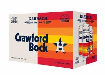 Karbach Crawford Bock 6pk 12oz Can