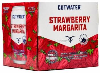 Cutwater Strawberry Margarita 4pk 12oz Can