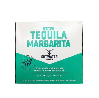 Cutwater Lime Tequila Margarita 4pk 12oz
