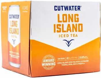 Cutwater Long Island Iced Tea 4pk 12oz Can