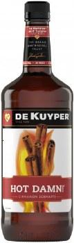 DeKuyper Hot Damn! Cinnamon Schnapps Liqueur 1L