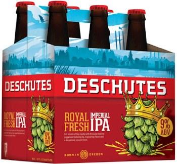 Deschutes Royal Fresh Imperial IPA 6pk 12oz Btl