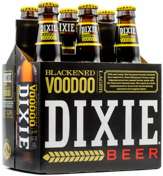 Dixie Beer Blackened Voodoo Lager 6pk 12oz Btl