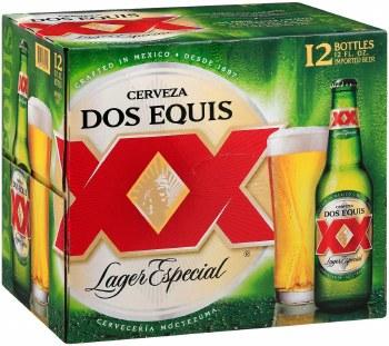Dos Equis XX Lager Especial 12pk 12oz Btl