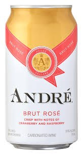 Andre Brut Rose 375ml Can