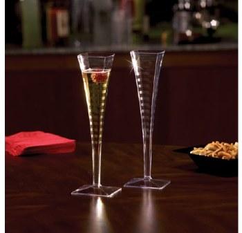 Yoshi Champagne Flute 5oz 6pk