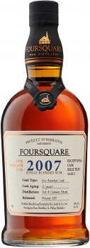 Foursquare 2007 Cask Strength 118 Proof Rum 750ml
