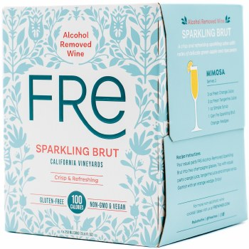 Fre Alcohol Removed Sparkling Brut 4pk 250ml Can