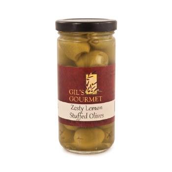 Gils Gourmet Zesty Lemon Stuffed Olives 5oz