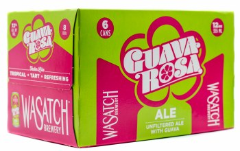 Wasatch Guava Rosa Tart Ale 6pk 12oz Can