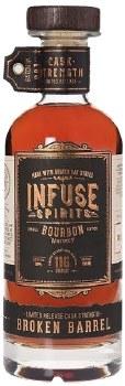Infuse Spirits Broken Barrel Cask Strength Bourbon 750ml