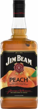 Jim Beam Peach Whiskey 1.75L
