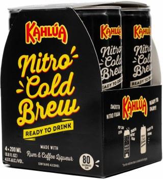 Kahlua Nitro Cold Brew 4pk 200ml