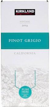 Kirkland Signature Pinot Grigio 3L