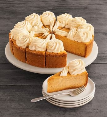 The Cheesecake Factory Pumpkin Cheesecake 10 Legacy Wine And Spirits