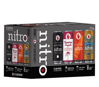 Left Hand Nitro Mixed Pack 8pk 12oz Cn