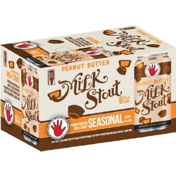 Left Hand Peanut Butter Milk Stout 6pk 12oz Cn