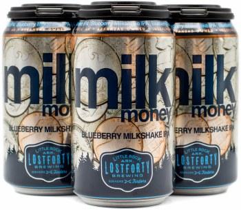 Lost Forty Blueberry Milk Money Milkshake IPA 4pk 12oz Can