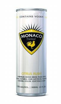 Monaco Citrus Rush Cocktail 12oz Can