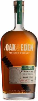 Oak & Eden Rye & Spire Rye Whiskey 750ml