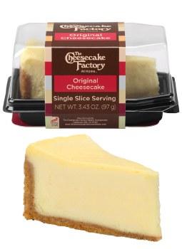The Cheesecake Factory Original Cheesecake Single Slice Slice