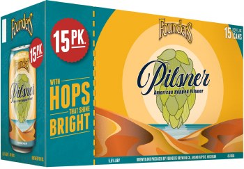 Founders Pilsner 15pk 12oz Can