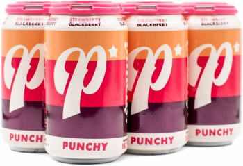 Lost Forty Punchy Strawberry Blackberry Hard Seltzer 6pk 12oz Can