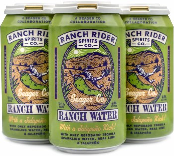 Ranch Rider Jalapeno Ranch Water 4pk 12oz Can