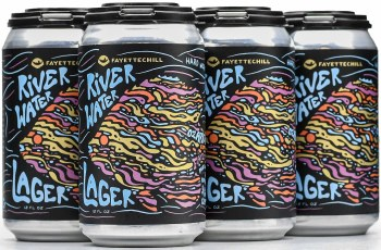 Ozark River Water Lager 6pk 12oz Can