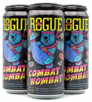 Rogue Combat Wombat Sour Hazy IPA 4pk 16oz Can