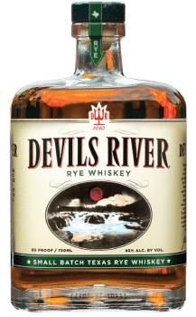 Devils River 90 Proof Rye Whiskey 750ml