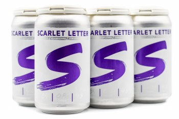 Scarlet Letter Spiked Seltzer (Purple) 6pk 12oz Can